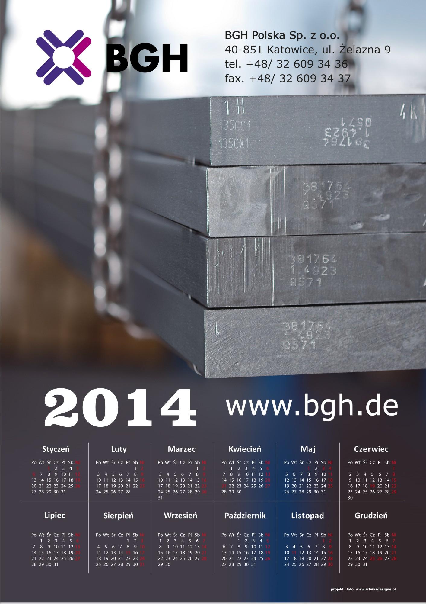 kalendarz BGH1