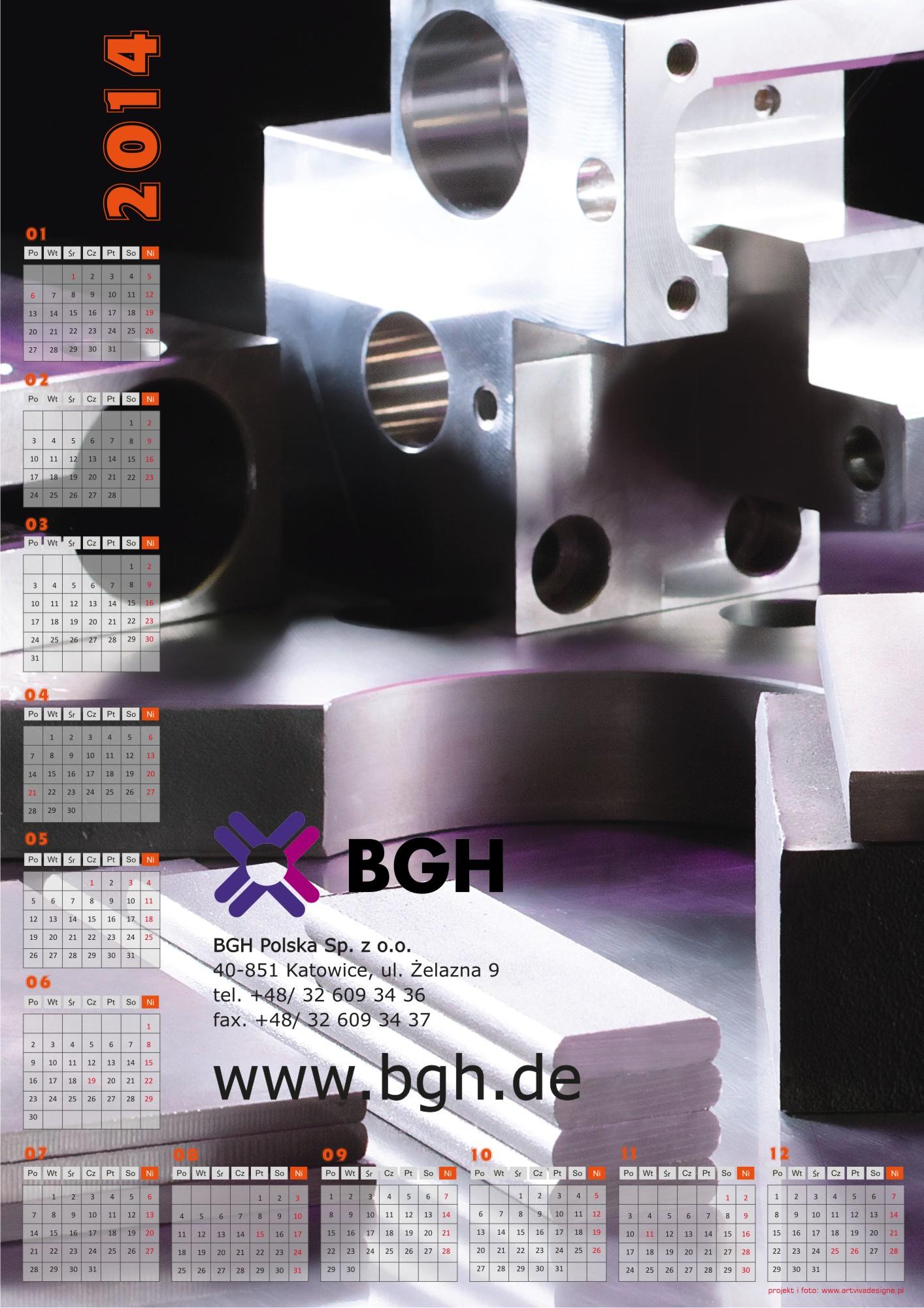 kalendarz BGH2
